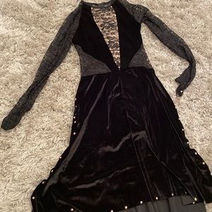 Other - Black velvet and lace dance costume (lyrical/cont)
